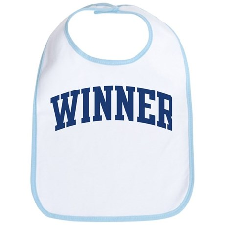 WINNER design (blue) Bib