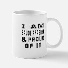 I Am Saudi or Saudi Arabian And Proud O Mug