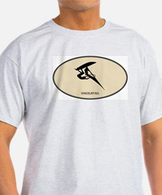 Windsurfing (euro-brown) T-Shirt