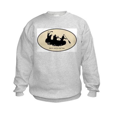 White Water Rafting (euro-bro Kids Sweatshirt