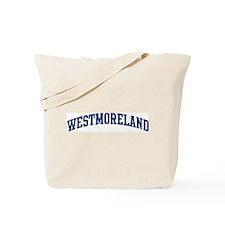 WESTMORELAND design (blue) Tote Bag