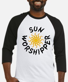 Sun Worshipper Baseball Jersey