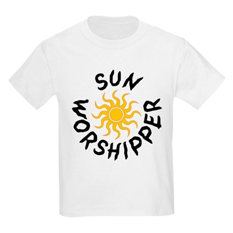 Sun Worshipper Kids T-Shirt