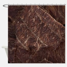 Beef Jerky Shower Curtain