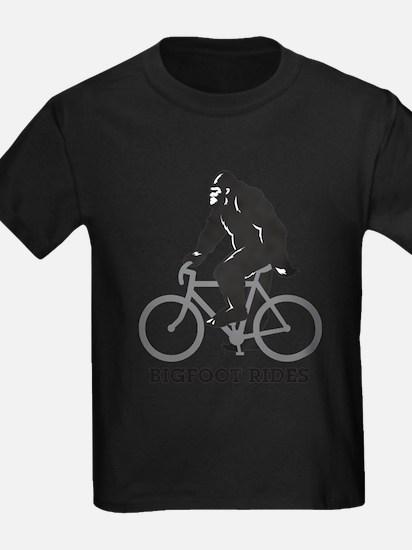 Bigfoot Rides T-Shirt T-Shirt
