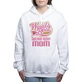 Husky mom Hooded Sweatshirt