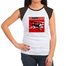 Red Baron Rocks Women's Cap Sleeve T-Shirt