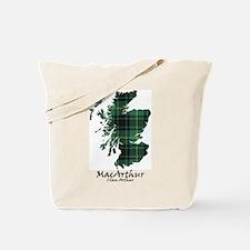Map - MacArthur Tote Bag