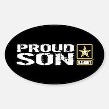 U.S. Army: Proud Son (Black) Decal