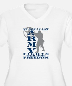 Son-in-Law Fights Freedom - ARMY T-Shirt