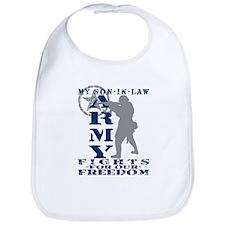 Son-in-Law Fights Freedom - ARMY Bib