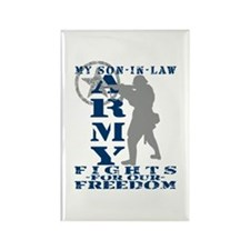 Son-in-Law Fights Freedom - ARMY Rectangle Magnet