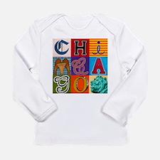 Chicago Sculptures Long Sleeve T-Shirt