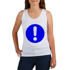 Exclamation Point Women's Tank Top