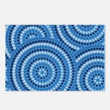 Unique Australian aboriginal Postcards (Package of 8)