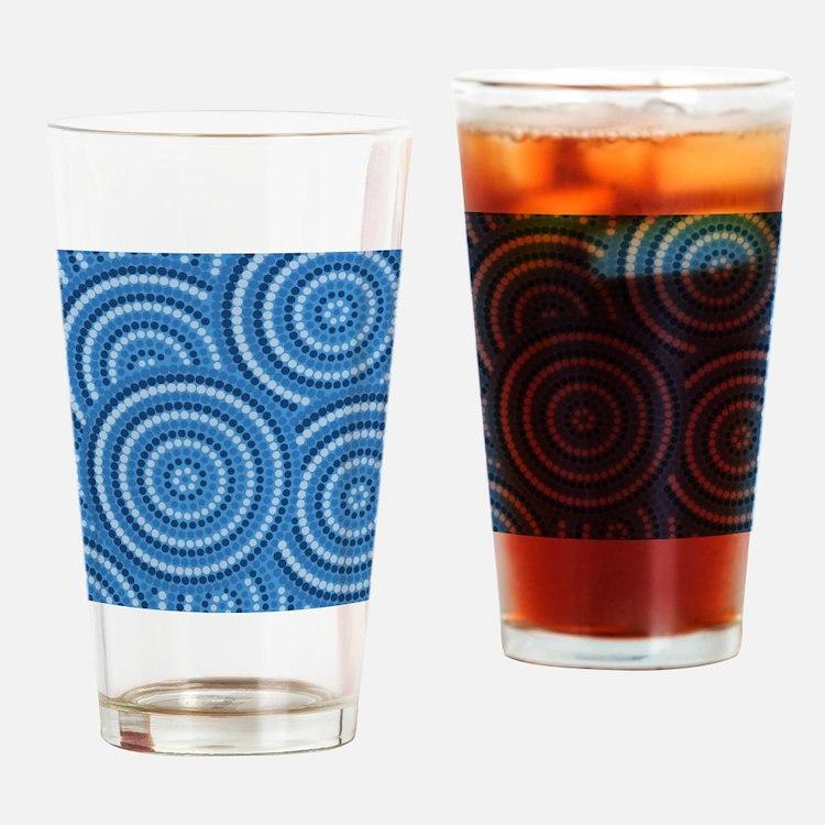 Cute Aboriginal Drinking Glass