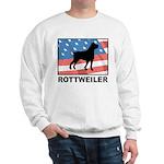 Patriotic Rottweiler Sweatshirt