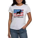 Patriotic Rottweiler Women's T-Shirt