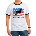 Patriotic Rottweiler Ringer T