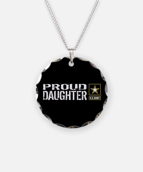 U.S. Army: Proud Daughter (B Necklace