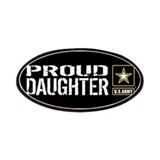 Proud daughter army Patches