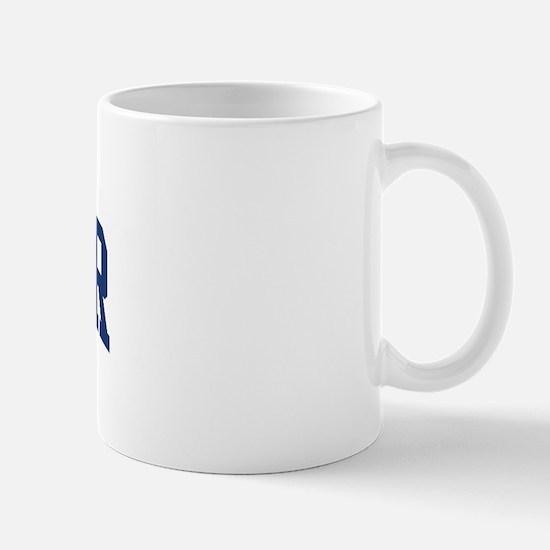 WELTER design (blue) Mug
