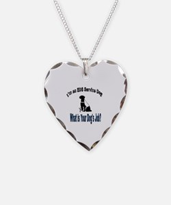 Funny Service Necklace