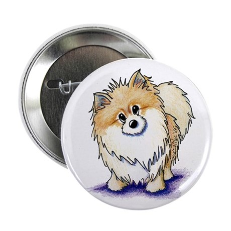 "Curious Pom 2.25"" Button (10 pack)"