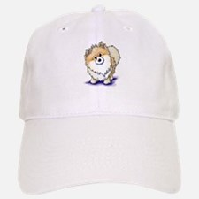 Curious Pom Baseball Baseball Cap