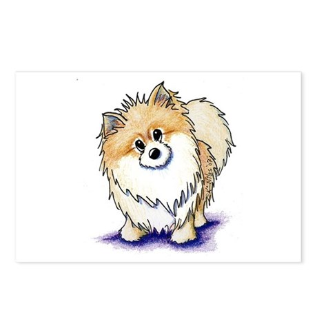Curious Pom Postcards (Package of 8)
