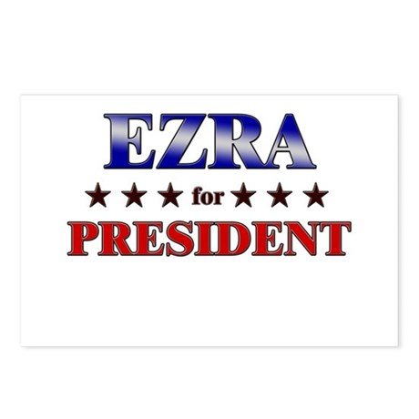 EZRA for president Postcards (Package of 8)