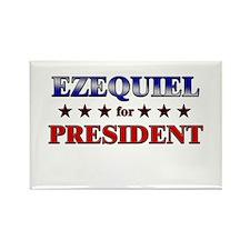 EZEQUIEL for president Rectangle Magnet