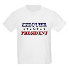 EZEQUIEL for president T-Shirt