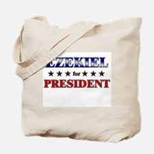EZEKIEL for president Tote Bag
