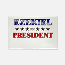 EZEKIEL for president Rectangle Magnet