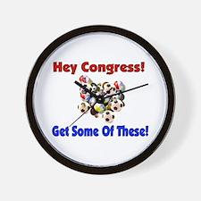 Anti-War Anti-Iraq Wall Clock