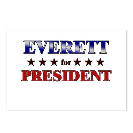 EVERETT for president Postcards (Package of 8)