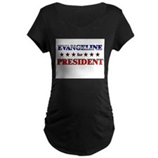 EVANGELINE for president T-Shirt