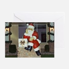 Cute Indiana christmas Greeting Cards (Pk of 10)
