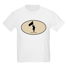Color Guard (euro-brown) T-Shirt