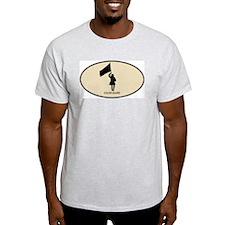Color Guard (euro-brown) T-Shirt