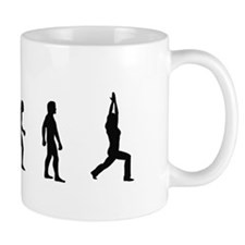 Evolution of Yoga Mug