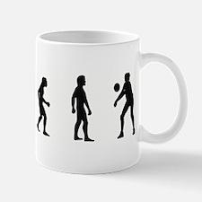 Evolution of Womens Volleybal Mug