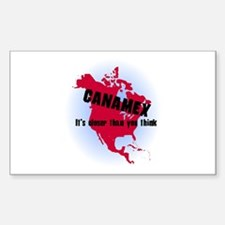Canamex T-Shirts and Gifts Rectangle Decal