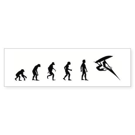 Evolution of Windsurfing Bumper Sticker