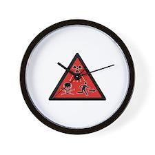 Radiation Hazard Wall Clock