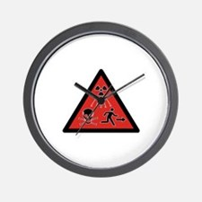Radiation Hazard Wall Clock