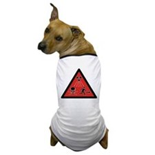 Radiation Hazard Dog T-Shirt