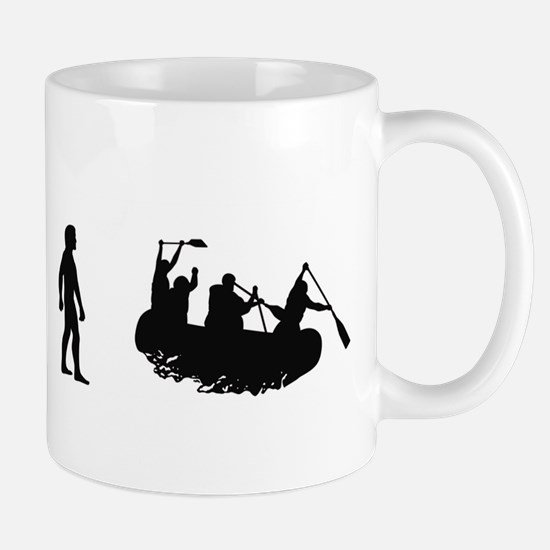 Evolution of White Water Raft Mug
