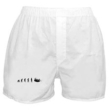 Evolution of White Water Raft Boxer Shorts